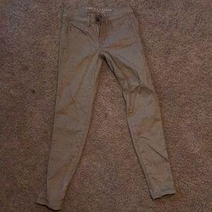 AE Khaki Jeans
